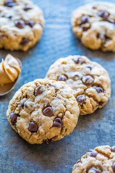 Peanut Butter Cowboy Cookies | Averie Cooks | Bloglovin'