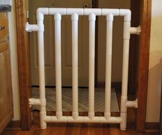 How to build a Safe and Strong Baby Gate @Kelly Blayer-Jordan think Adam Jordan wants a project? Not like you guys are busy or anything though :)