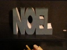 """Book cut into """"NOEL"""" Christmas Decor Mantle Holiday Decoration, upcycled book,"""