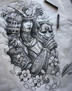 Amazing tomoe gozen female samurai art/sketch done. - - Amazing tomoe gozen female samurai art/sketch done… – - Irezumi Tattoos, Kunst Tattoos, Body Art Tattoos, Sleeve Tattoos, Geisha Tattoos, Tattoo Arm, Japanese Tattoo Art, Japanese Tattoo Designs, Japanese Tattoo Samurai