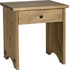 Corona Pine Dressing Table Stool