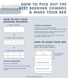 Is Your Bedroom In Need Of A Pick Me Up? It Might Be Time For A Bedding Refresh (+ 36 Affordable Picks) - Emily Henderson #bedroomdecor #bedding #interiors Make Your Bed, How To Make, Neutral Bed Linen, King Size Pillows, Green Bedding, Simple Bed, Affordable Bedding, Neutral Colour Palette, Saturated Color