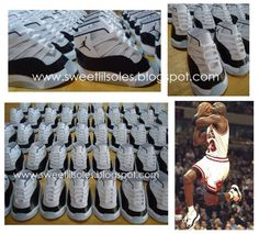 Jordan 11s #Concord Shoe Party Favor