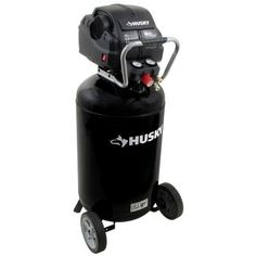 Husky 33 gal. Quiet Portable Electric Air Compressor-C331H at The Home Depot