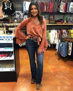 """7f2deb0bcf6 El Potrerito Western Wear on Instagram  """"Get this look  elpotrerito"""". Cowboy  Boot OutfitsWinter Boots ..."""