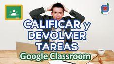 Google Classroom | Como calificar y devolver tareas Design Social, Study Techniques, Educational Games For Kids, Learning Courses, Flipped Classroom, Google Classroom, Special Education, Math Education, Teacher Hacks