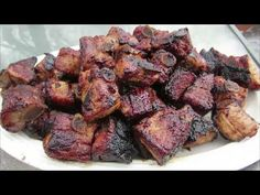 Grilled Teriyaki Pork Riblets - The Wolfe Pit