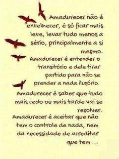 Amadurecer... Rubem Alves...