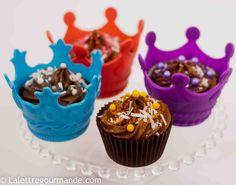 Cupcakes à la noix de coco et Philadelphia Milka http://blog.lalettregourmande.com/2012/09/cupcakes-a-la-noix-de-coco-et-philadelphia-milka/