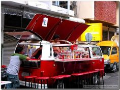 Cocktail Bus - Cool Volkswagen Transporter, Transporter T3, Volkswagen Bus, Mini Camper, Vw T1 Camper, Kombi Food Truck, Pizza Truck, Coffee Van, Coffee Shop