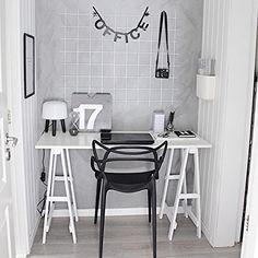 Scandinavian inspired home offices | fregnate on instagram