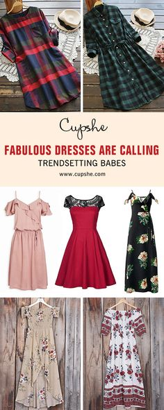 How perfect these adorable dresses for summer and fall?! With dainty prints and trendy cut style, these pieces will be perfect for any occasion! Shop Now!