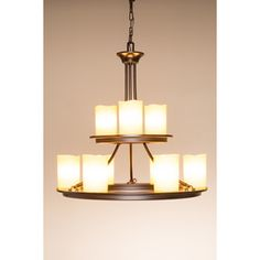 shop allen roth harpwell bronze hardwired standard chandelier at loweu0027s canada find our selection of chandeliers at the lowest price guaranteed with