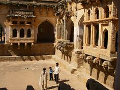 Some of Hampi's better-preserved buildings, India