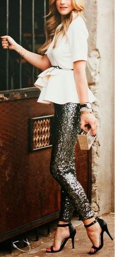 Shasta' Sequin Leggings
