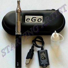 ONLY 7 hours left!!  Ego-T Electronic Vaporizer Pen E Hookah Starter Kit Protank 1100mah  New Designs