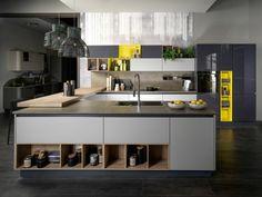 îlots de cuisine : idée de rangement design