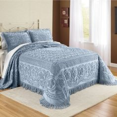 A Nice Selection of Chenille Bedspreads and Shams