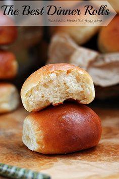 The best homemade dinner rolls (from scratch)!