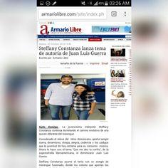 Steffany Constanza #quemedestucariño de Juan Luis Guerra Ti Tuaaaa.