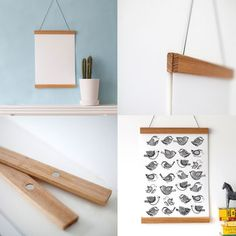 Wooden Picture Hanging Frame