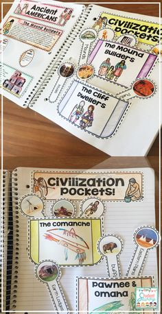 Native American & Early Americans Interactive Notebooks Source by studentsavvy - Social Studies Notebook, 6th Grade Social Studies, Social Studies Classroom, Teaching Social Studies, Classroom Resources, 6th Grade Activities, Social Studies Activities, Teaching Activities, Teaching Ideas