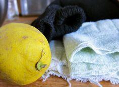 Lemon Socks for a Fever- who knew?