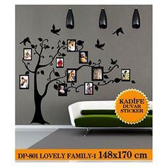 Kadife Duvar Sticker Lovely Family-1 148X170 Cm  -> Coart