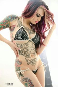 Inked ♣ Beauty 》 DanaMichele