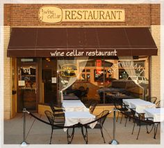 Wine Cellar Restaurant features European and Californian cuisine! Enjoy watching the activity of #DowntownRapidCity while dining outside or in the historic building.