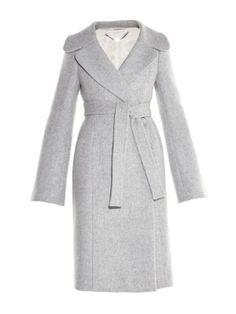 Paolina wide-lapel wool-blend coat | Stella McCartney | MATCHESFASHION.COM
