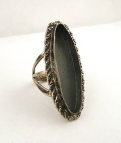 Sterling Silver Ring Setting  // Size 4.5 // by CastoGemstones, $12.00