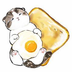 Cute Animal Drawings Kawaii, Cute Little Drawings, Kawaii Art, Kitty Drawing, Cat Icon, Dibujos Cute, Cute Cartoon Wallpapers, Cute Illustration, Cat Art