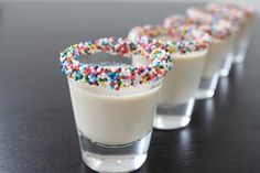 Birthday Cake Shots | 13 Vodka Shots You'll Actually Want To Take
