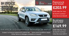 SEAT ATECA DIESEL ESTATE  1.6 TDI Ecomotive SE Technology 5dr