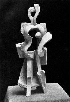 Alexander Archipenko - Femme Marchante (1912)