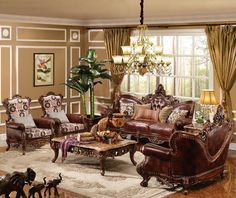 The Imperial Formal Living Room Collection