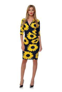 Rochie petrecuta cu imprimeu floral RLN39 -  Ama Fashion Dresses For Work, Floral, Fashion, Moda, Fashion Styles, Flowers, Fashion Illustrations, Flower