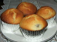 Wilgotne drożdżowe muffinki