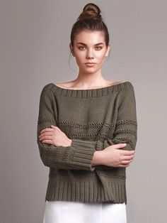 A super comfy oversized, slash neck raglan sleeved jumper with bands of textured stitch detail contrasting with... See our great prices and fast service.