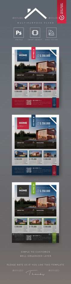 Free Real Estate Flyer PSD Template Free Flyers Pinterest - house for sale sign template