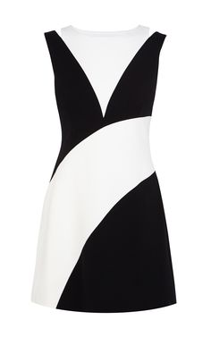Karen Millen 60'S colourblock dress