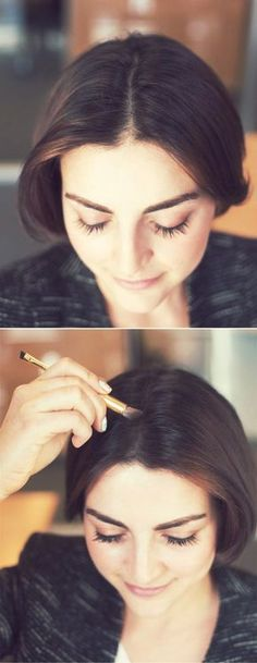 These 10 hair hacks are bullet proof ways for saving your from having a bad hair day! Beauty Make-up, Beauty Makeup Tips, Beauty Secrets, Beauty Hacks, Hair Beauty, Beauty Dust, Natural Beauty, Diy Beauté, Eyeliner Hacks