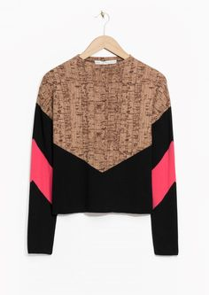 & Other Stories | Cork Oak Print Sweater