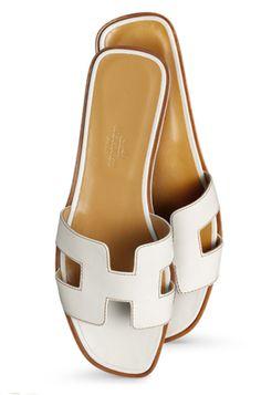 8afbe12764ab4c Hermes Flats  FollowShopHers Flat Sandals