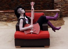 Awesome Marceline the Vampire Queen cosplay #marceline #marcy #vampire #adventuretime #axebass #cosplay