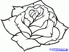 Color Pencil Drawings of Roses | how to draw a blue rose step 9