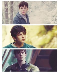 Edmund in the Lion, the Witch and the Wardrobe, Prince Caspian, and the Voyage of the Dawn Treader