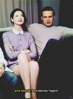 """theothersideofsandpaper:  The casts talking about Jamie's ex.  These two must constant give other attractive cast members the stink eye. These are the two most """"fake jealous"""" people ever. Lol."""