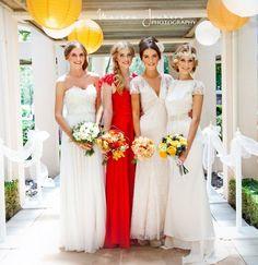 Lace bohemian bridal dresses by ALEKS BRIDAL